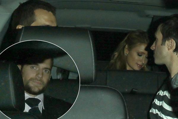 Paris Hilton se va de fiesta con el 'Superman' Henry Cavill