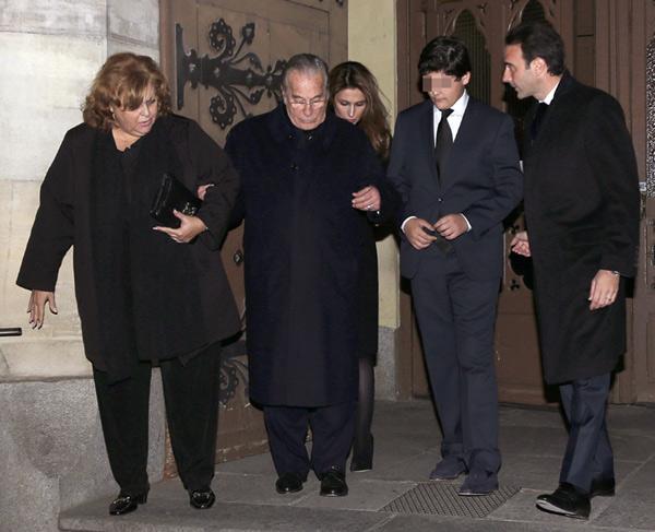 Familiares y amigos despiden a Victoriano Cuevas en un emotivo funeral