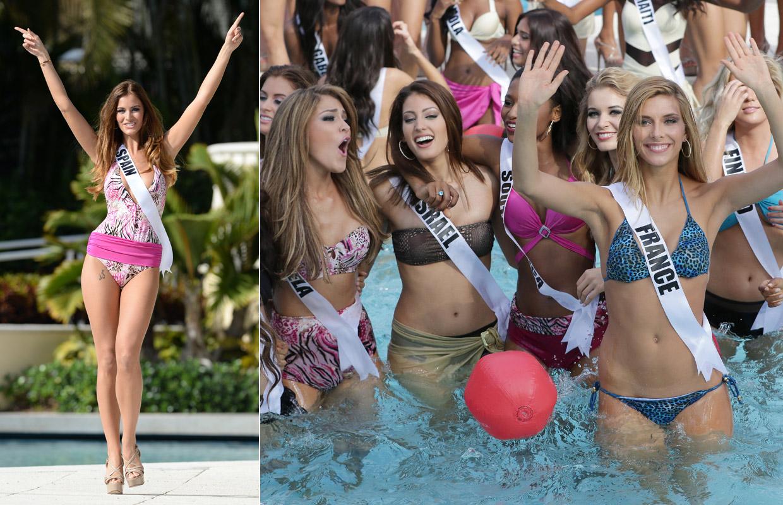 05c761f54809 Pool Party' en Miss Universo, la piscina con más guapas por metro ...