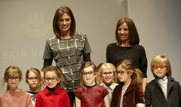 Nieves Álvarez vuelve a la pasarela como diseñadora: 'Mis hijos están orgullosos del trabajo que hago'