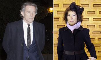 Alfonso Diez asiste al funeral por Fabiola de Bélgica en Madrid