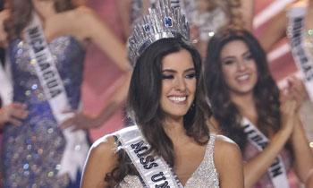 Desiré Cordero queda entre las 10 finalistas en la gala de Miss Universo, en la que fue coronada Miss Colombia