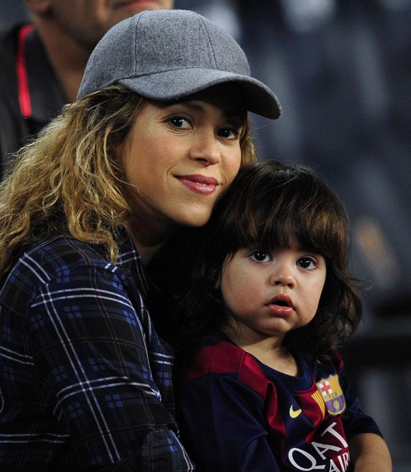 Shakira continúa en su casa, mientras la expectación crece ante el nacimiento de su segundo hijo