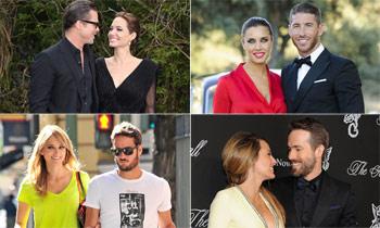 Elige a la pareja más romántica del año