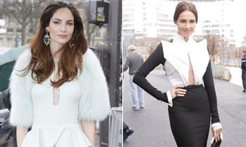 Eugenia Silva y Adriana Abascal: las blogueras de HOLA.com marcan estilo en París