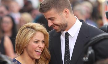 Shakira y Gerard Piqué: felicidad... ¡por partida triple!