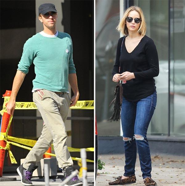 Jennifer Lawrence y Chris Martin van juntos al cumpleaños de Harry Styles