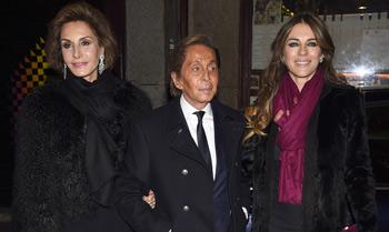 Naty Abascal, Valentino y Elizabeth Hurley, de fiesta en Madrid