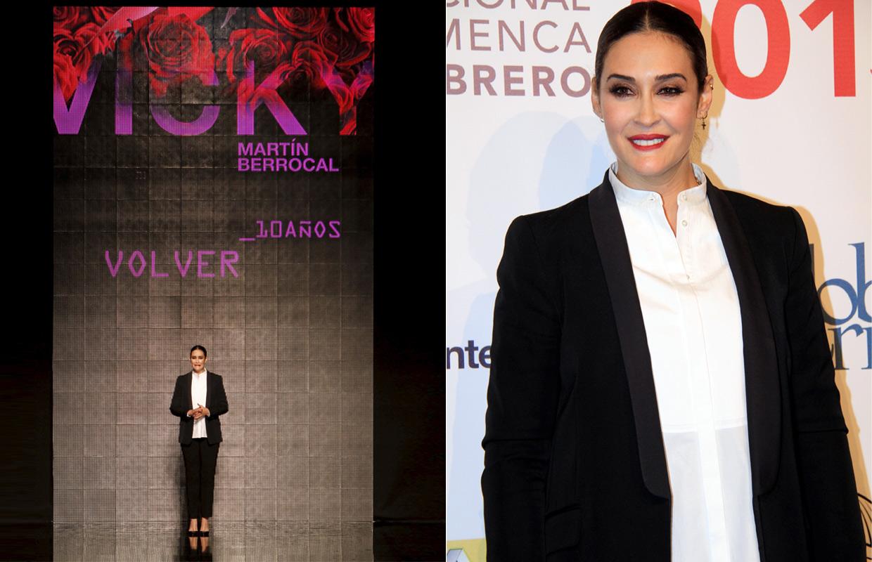 Su hija Alba, 'El Cordobés' y muchos amigos aplauden a Vicky Martín Berrocal en su esperado regreso