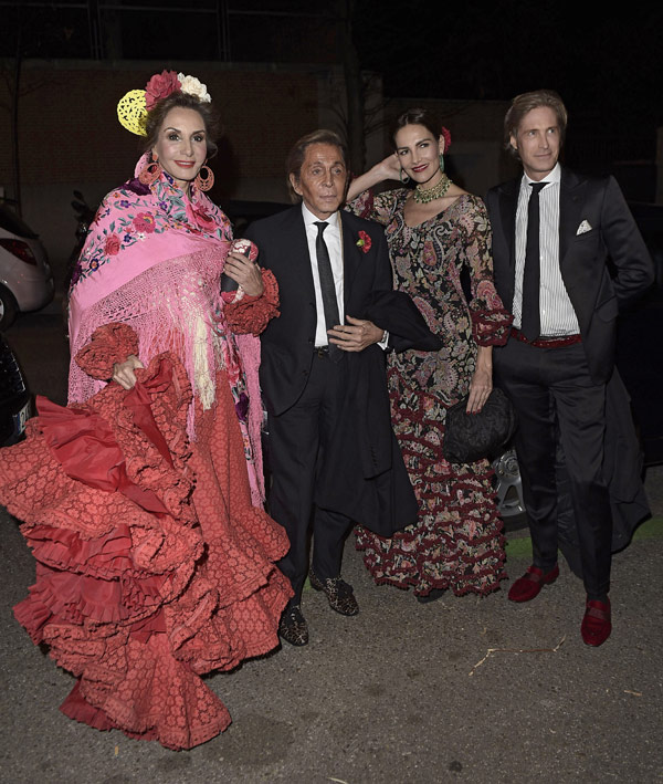 Amor, 'glamour' y espíritu italiano en una gran fiesta flamenca