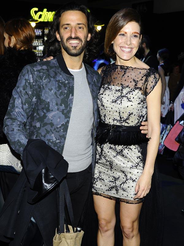 Raquel Sánchez Silva, modelo por un día ante la mirada de su novio Matías Dumont: 'Es la mujer más increíble que he conocido'