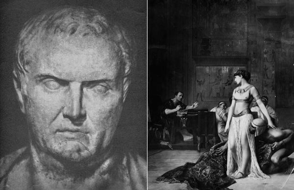 Cleopatra y Marco Antonio, una historia de amor marcada por la pasión y la tragedia