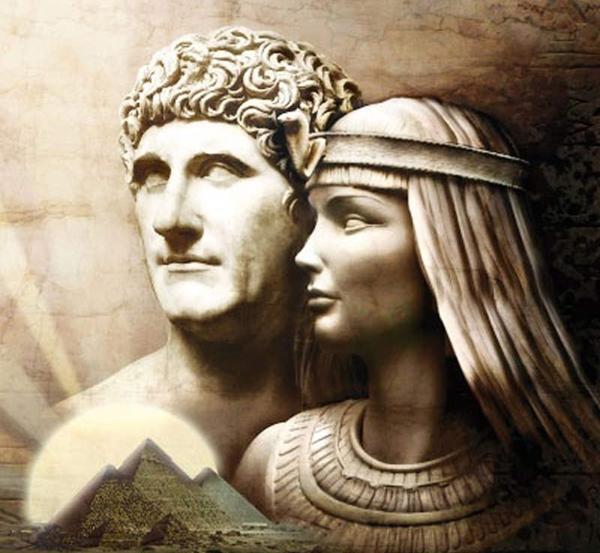 Analisis Del Matrimonio Romano Y El Actual : Cleopatra y marco antonio una historia de amor marcada