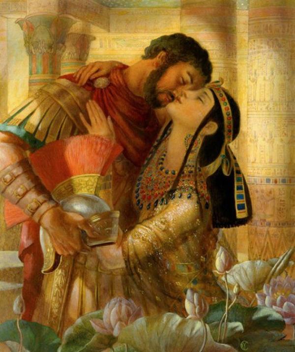 Cleopatra Y Marco Antonio Una Historia De Amor Marcada Por La