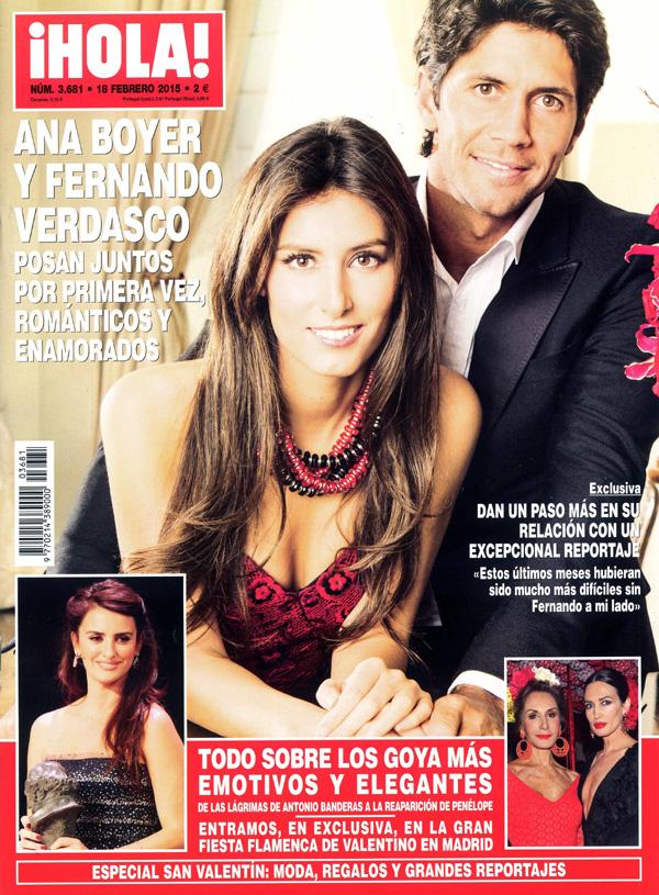 En exclusiva en ¡HOLA!, el primer reportaje juntos de Ana Boyer y Fernando Verdasco
