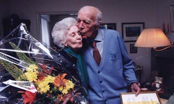 Los príncipes Bertil y Lilian de Suecia, 33 años de espera para poder contraer matrimonio