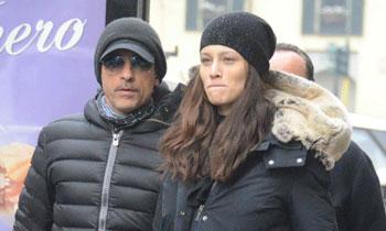 Eros Ramazzotti y Marica Pellegrinelli, últimos días en la dulce espera