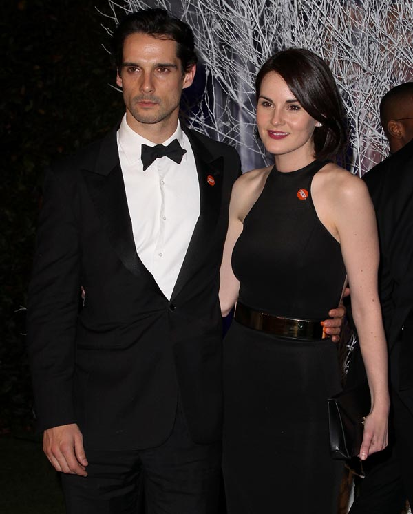 'Downton Abbey' se va de boda: Michelle Dockery, Lady Mary, se compromete