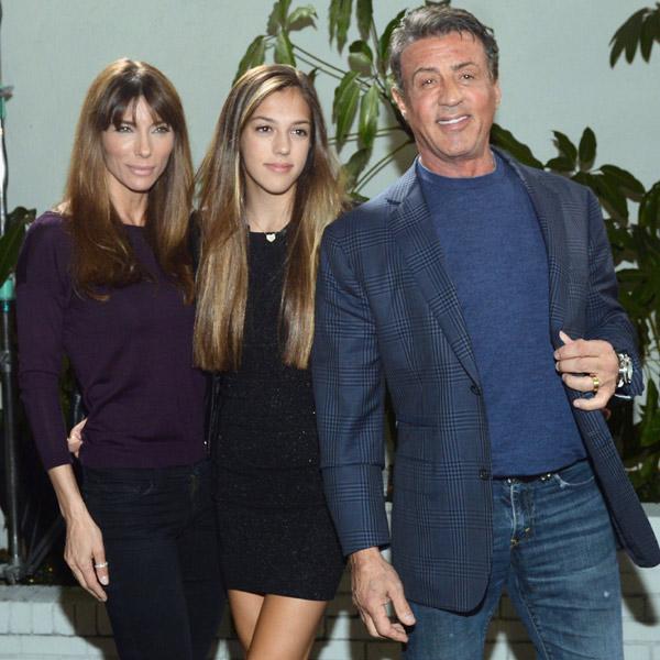 Sistine Stallone, la hija de 'Rambo' reclama su sitio sobre una pasarela