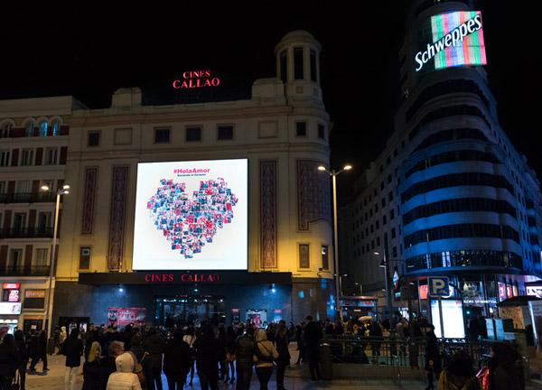 Así conseguimos encender el corazón virtual de ¡HOLA! en San Valentín