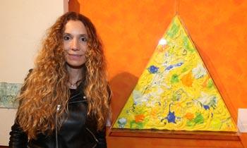 Blanca Cuesta homenajea con su pintura al desaparecido Adolfo Suárez