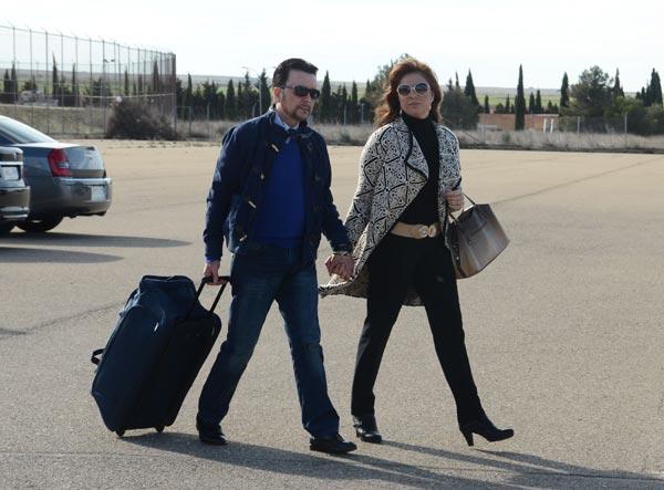 José Ortega Cano regresa a la cárcel de Zuera, tras disfrutar de su permiso