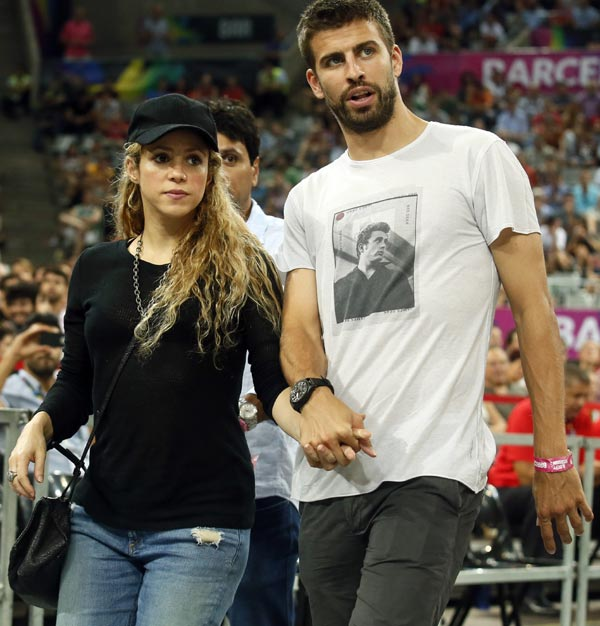Shakira, Piqué y Mark Zuckerberg, mesa para tres en Barcelona