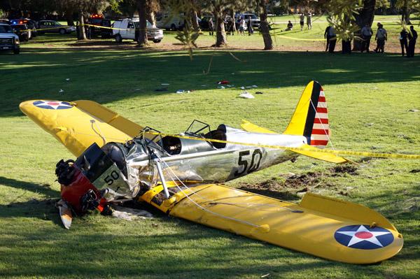 ¿Cómo se encuentra Harrison Ford tras el accidente de avioneta?