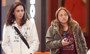 Rocío Flores pasa una 'tarde de chicas' con la mujer de su padre