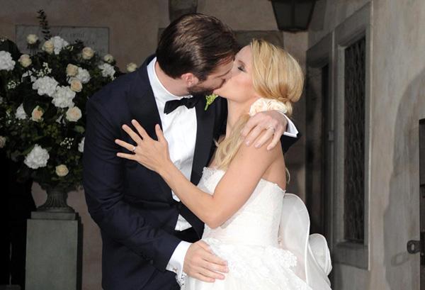 Eros Ramazzotti y su exmujer, la modelo Michelle Hunziker, se convierten en padres a la vez