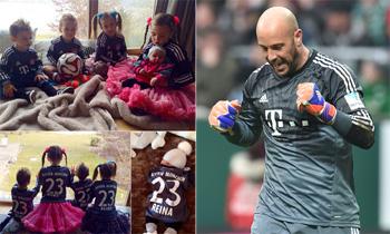 Pepe Reina agradece a sus hijos su nuevo éxito: 'Imposible que saliera mal con este equipo'