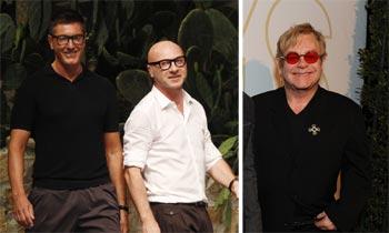 El boicot de Elton John a Dolce & Gabbana enciende la red