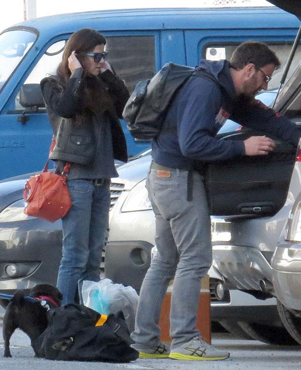 Clara Lago y Dani Rovira, escapada solidaria a Málaga