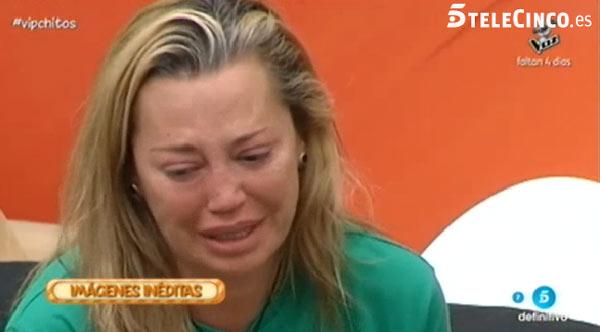 Las lágrimas de Belén Esteban al hablar de su madre: 'Qué ganas tengo de verla. Me la voy a comer a besos'