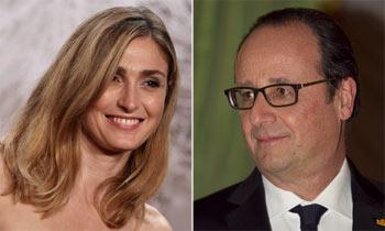 François Hollande y Julie Gayet, primera salida juntos