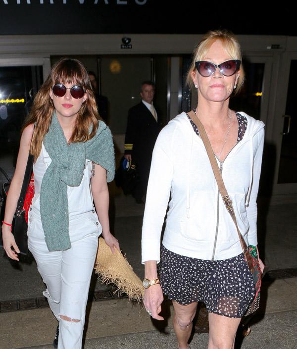 Las vacaciones en el paraíso de Dakota Johnson y Melanie Griffith con Kris Jenner