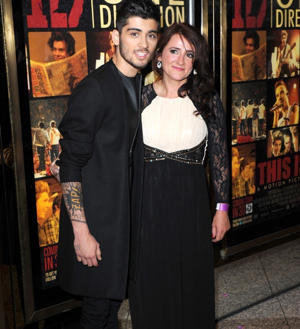 La vida normal de Zayn Malik, One Direction, comienza con una casa nueva y una boda