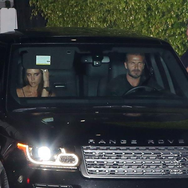 David y Victoria Beckham, cita de dobles parejas con Eva Longoria y Pepe Bastón