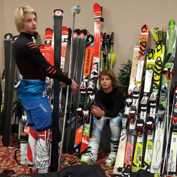 Valeria Mazza, una mamá modelo de dos prometedoras estrellas del esquí