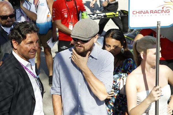 ¿Qué hacía Miguel Ángel Silvestre con Irina Shayk y Leonardo DiCaprio?