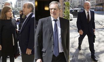 Empresarios y políticos dan su último adiós a la esposa de César Alierta, presidente de Telefónica