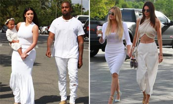 Ellas son únicas... así fue la personal y original celebración de Pascua de las Kardashian