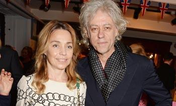 Bob, padre de Peaches Geldof, se casará en la misma iglesia en la que dijo adiós a su hija hace un año