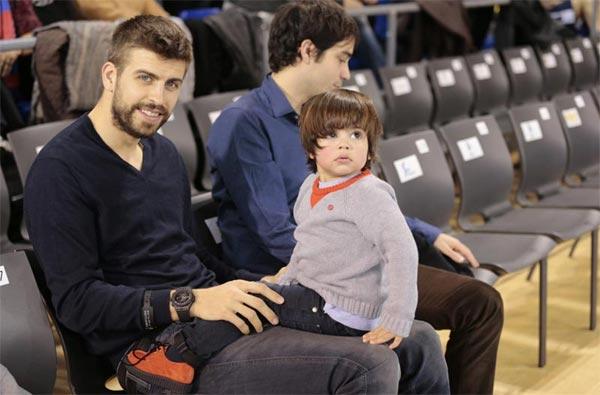 Las aficiones de Milan y Sasha, hijos de Shakira y Piqué