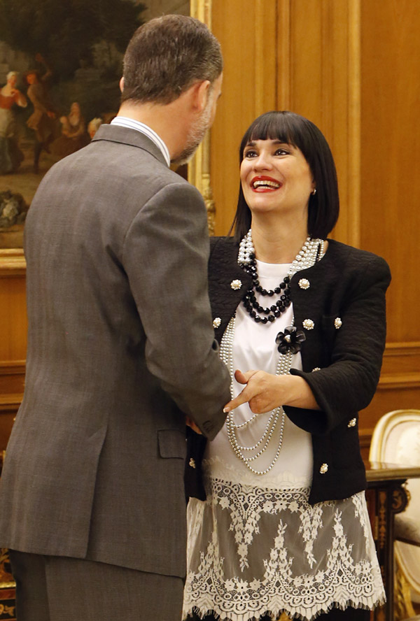 El Rey, a Irene Villa: 'Hay muchas fundaciones, pero la tuya es muy necesaria por sus valores de alegría, compromiso y energía positiva'