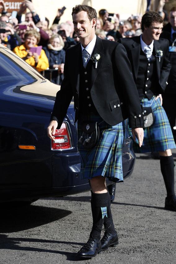 Matrimonio In Kilt : La boda escocesa de andy murray y kim sears foto