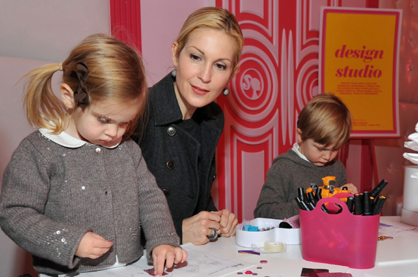 Kelly Rutherford hijos