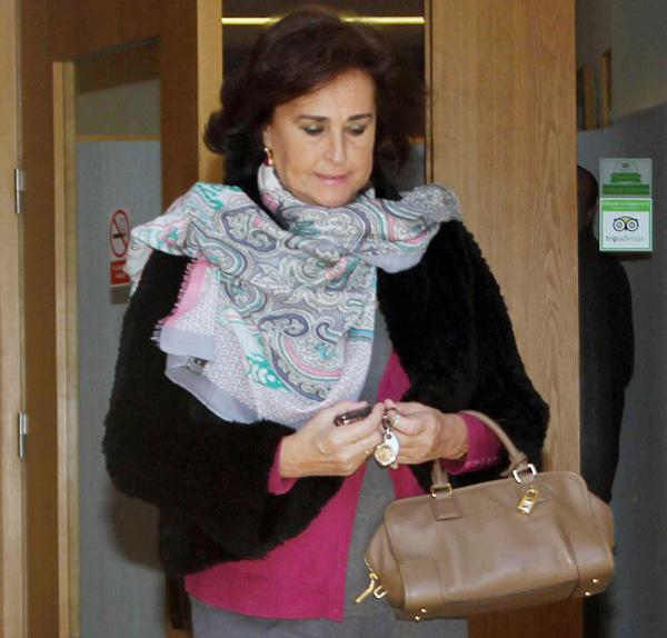 Carmen Tello, sobre la amistad de su hijo Enrique Solís y María Beca: 'Sé que la conoce hace tiempo, pero de esto no sabía nada. Lo lleva muy en silencio todo'