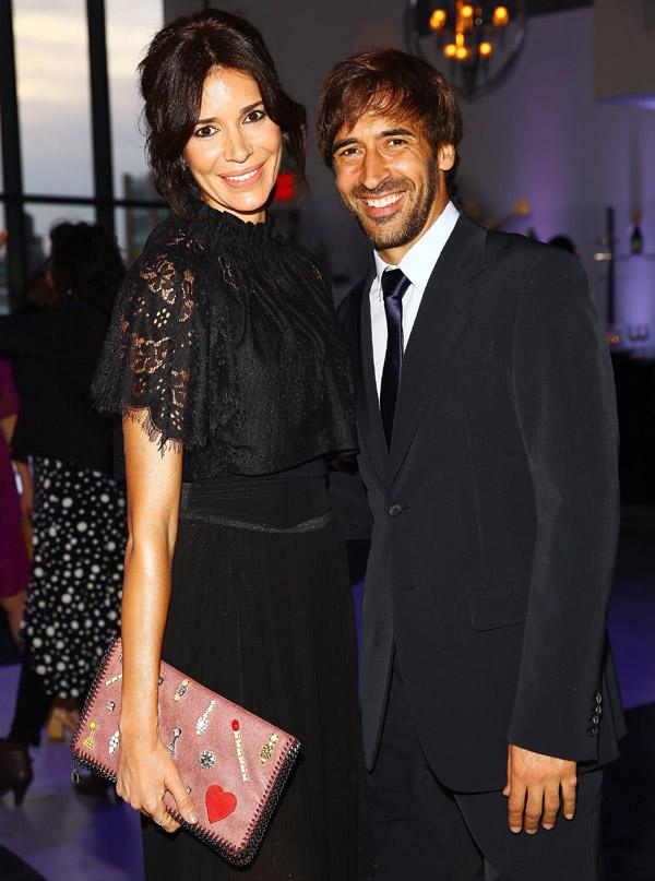 Princesas, modelos, actores... Raúl González y Mamen Sanz se rodean de estrellas en Tribeca