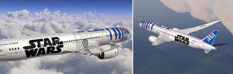 El robot R2-D2 de 'Star Wars' emprende el vuelo